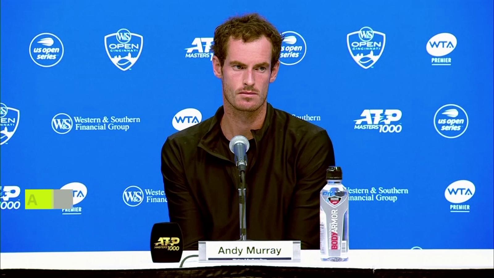 U.S Open enkelspel te vroeg voor Andy Murray