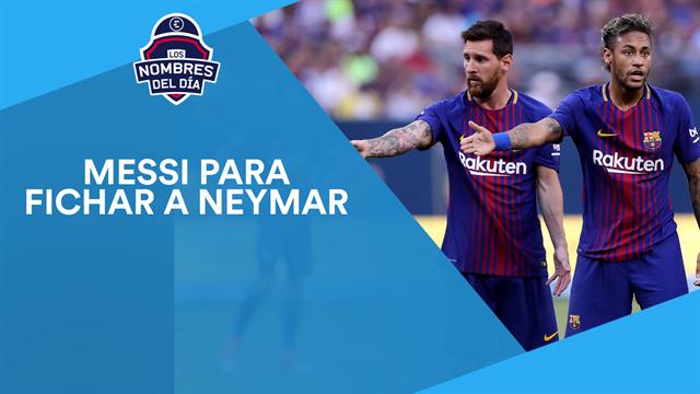 Messi, Neymar, Isco y James, Rodrigo Moreno y Mangala, los nombres del día