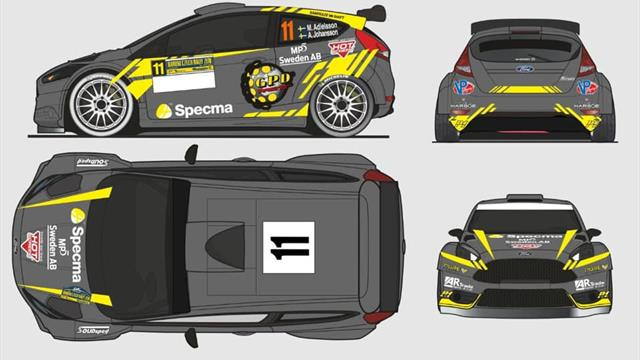 Blue not pictured but Adielsson is still a Swede in ERC