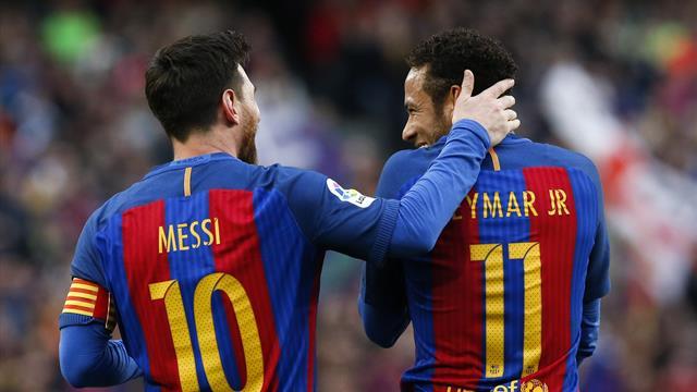 """Messi : """"Je ne sais pas si le Barça a tout fait pour faire revenir Neymar"""""""