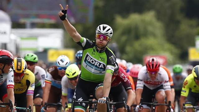 Nouveau sprint et nouvelle victoire pour Bennett