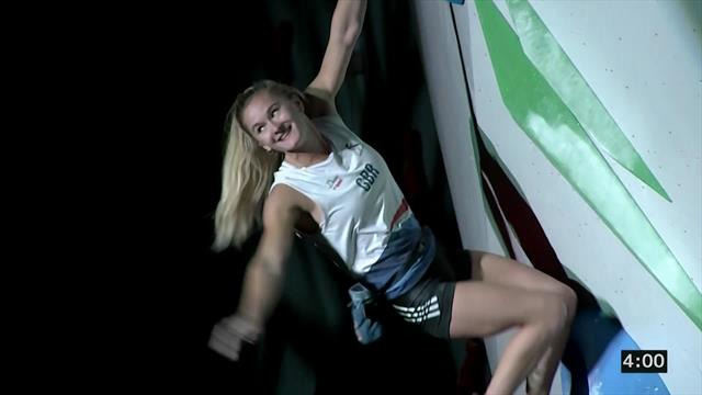 Coxsey takes bronze to become first British medallist at Climbing World Championships
