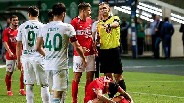 Егоров – о матче «Ахмат» – «Спартак»: «Даудов после игры подошел к судье, чтобы обезопасить его»