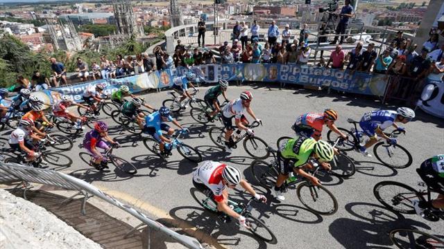 Giacomo Nizzolo, primer líder de la Vuelta a Burgos