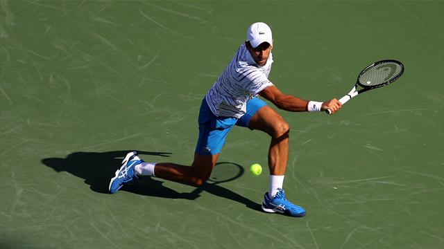 Novak Djokovic supera all'esordio Sam Querrey in due set
