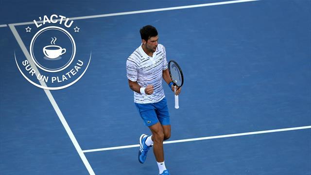 Djokovic, Federer, Ajax, Mercredi Mercato : L'actu sur un plateau