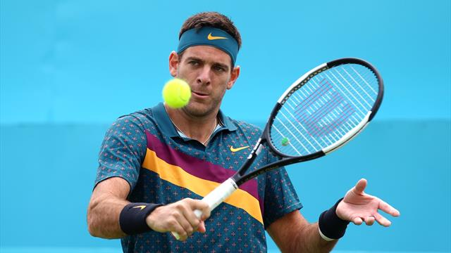 Del Potro withdraws from US Open as knee rehab continues