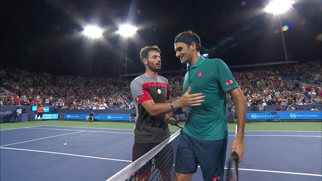 Федерер в 38 так же хорош, как в 37: Лондеро сломался под его рейдами к сетке