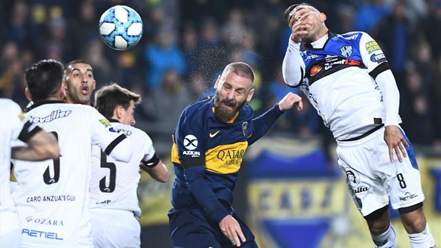 VIDEO - Il gol di Daniele De Rossi col Boca Juniors al debutto in Argentina