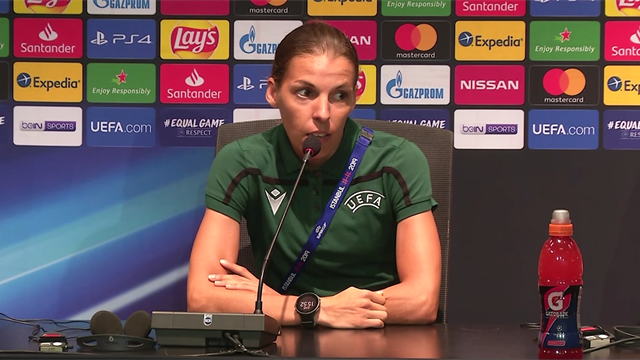 'Football is the same' – Female referee Stephanie Frappart on Super Cup role