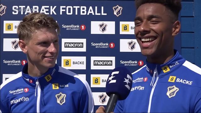 De danske Stabæk-drenge med Heltne Nilsen-anekdote: Han flækkede mig 3-4 gange på 10 minutter
