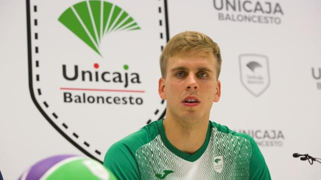 """El ucraniano Volodymyr Gerun destaca que """"fue fácil elegir Málaga"""""""