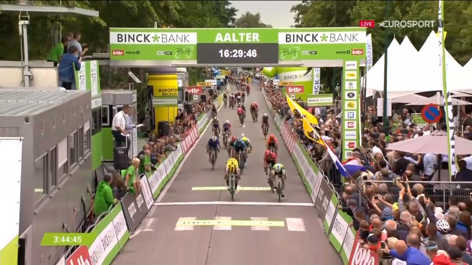 BinckBank Tour: Bennett opnieuw de snelste in de sprint