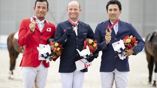 Michael Jung remporte le Test Event à Tokyo