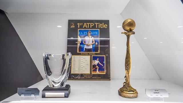 ATP Sopot 2004: Rafa Nadal vence su primer torneo ATP, así fue y así luce el trofeo