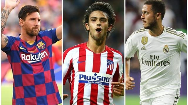 La Liga preview: Barcelona, Real Madrid and Atletico Madrid set for three-horse title race