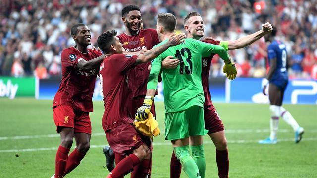 Supercopa de Europa, Liverpool-Chelsea: Adrián, el héroe en otro éxito 'red' (2-2, pen 5-4)