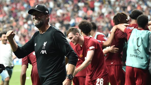 Sieg im Elfmeterschießen: Liverpool schnappt sich auch UEFA Supercup