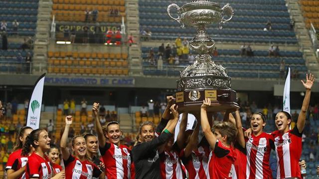 1-1. El Athletic femenino hace historia tras ganar en la tanda de penaltis