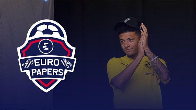 Euro Papers: 'Super club' approach for Sancho confirmed by Dortmund