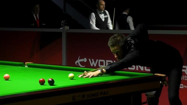 WATCH: Gilbert's 131 break during China Championship qualifier