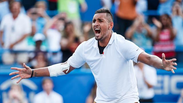 Kyrgios schießt erneut gegen Nadal - diesmal mit einem Beweisvideo