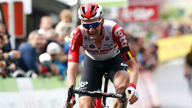 Photo finish sees Wellens claim Stage 4 of BinckBank Tour