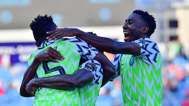 Федерация футбола Нигерии спутала цвета украинского флага