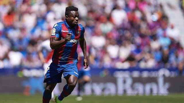 Le nigérian Moses Simon prêté à Nantes par Levante