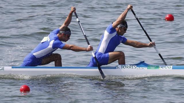 Los campeones de remo cubanos lideran el equipo para el campeonato mundial en Hungría