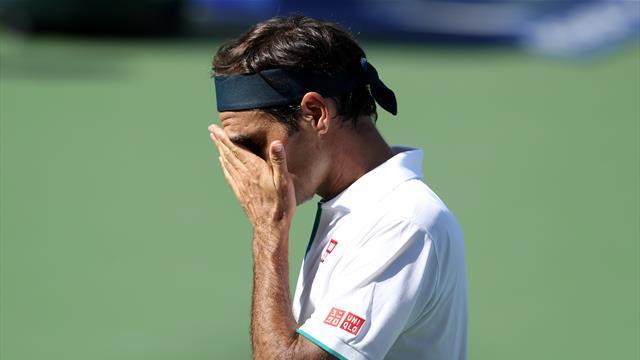 Une petite heure et la porte : Federer est tombé de très haut