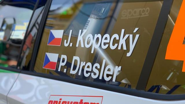 Kopecky kicks off ERC Zlin win defence by topping Qualifying
