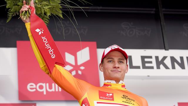 Van der Poel's Arctic Race stage win surprises even himself
