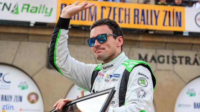 Kopecky, dernier vainqueur à Zlin, le plus rapide en Qualification de l'ERC