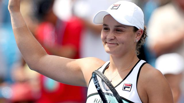 Barty regroups against Sakkari to reach Cincinnati Masters semi-finals