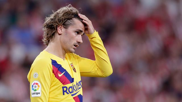 Griezmann and De Jong given rude awakening