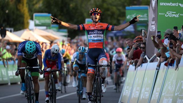 Ronde van Utah| Marco Canola wint de vierde etappe