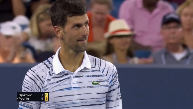 Highlights: Djokovic demolishes Pouille in second set to claim Cincinnati win