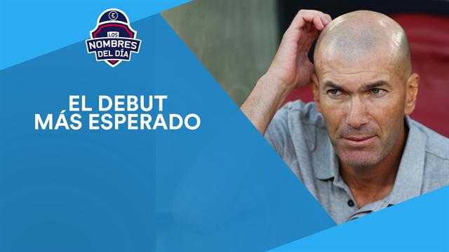 El debut del Madrid, Luis Suárez, Coutinho, Correa y Aduriz, los nombres del día