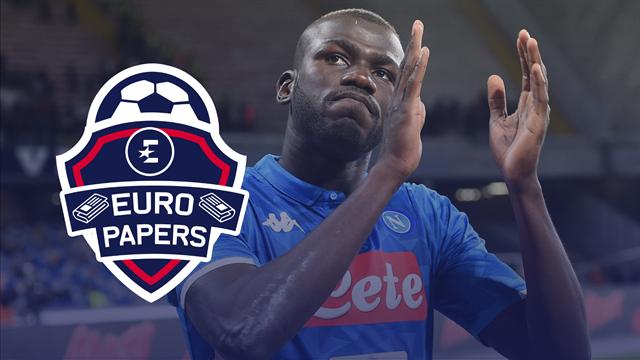 United's mega bid for Koulibaly revealed - Euro Papers