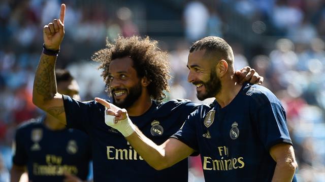Porté par un grand Benzema, le Real retrouve le sourire