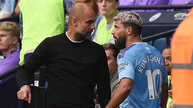 ¡Alto voltaje! El encontronazo entre Agüero y Guardiola tras su sustitución