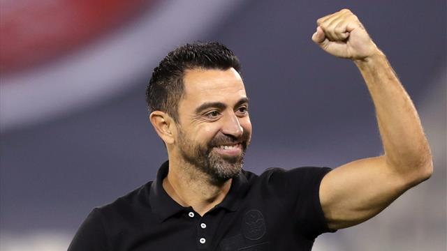 ⚽🏆 ¡Estrena palmarés! Xavi Hernández consigue su primer título como entrenador