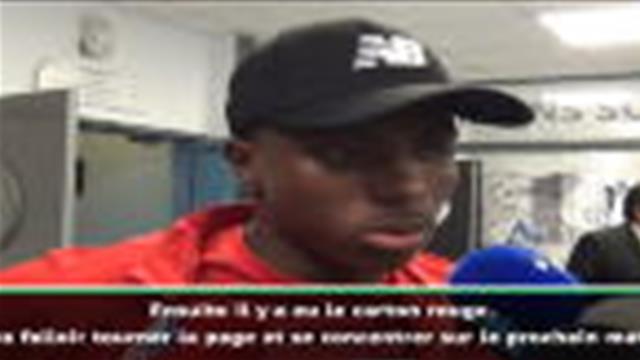 2e j. - Osimhen sur l'expulsion de Soumaré : ''Le carton rouge n'est pas justifié''