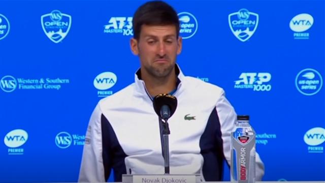 Djokovic takes his hat off to Medvedev
