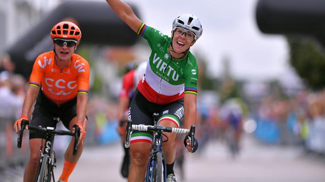 Bastianelli claims Vargarda West Sweden Road Race victory