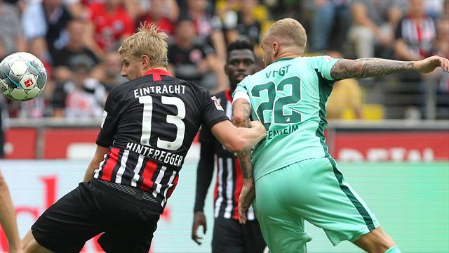 """Hinteregger schießt Eintracht zum Sieg: """"Herausragendes Spiel!"""""""