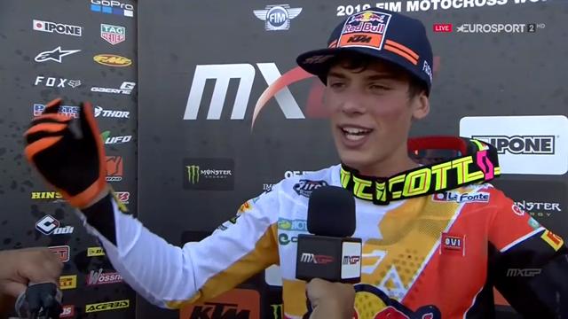 """MX2, GP Italia, Jorge Prado: """"No podía cometer errores"""""""
