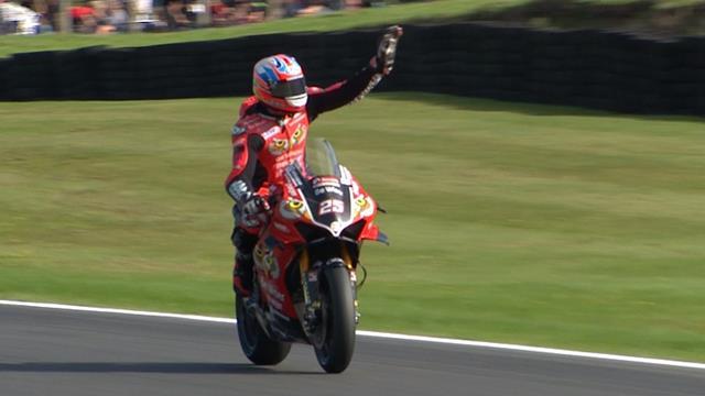 Josh Brookes wins Race Two