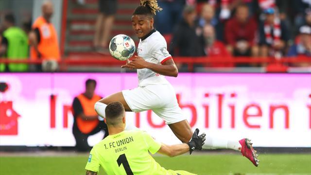 Nkunku marque pour ses débuts avec Leipzig